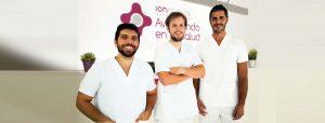 IONCLINICS centro de fisioterapia y medicina del deporte equipo