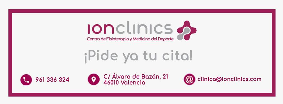 contactos ionclinics centro de fisioterapia y medicina del deporte