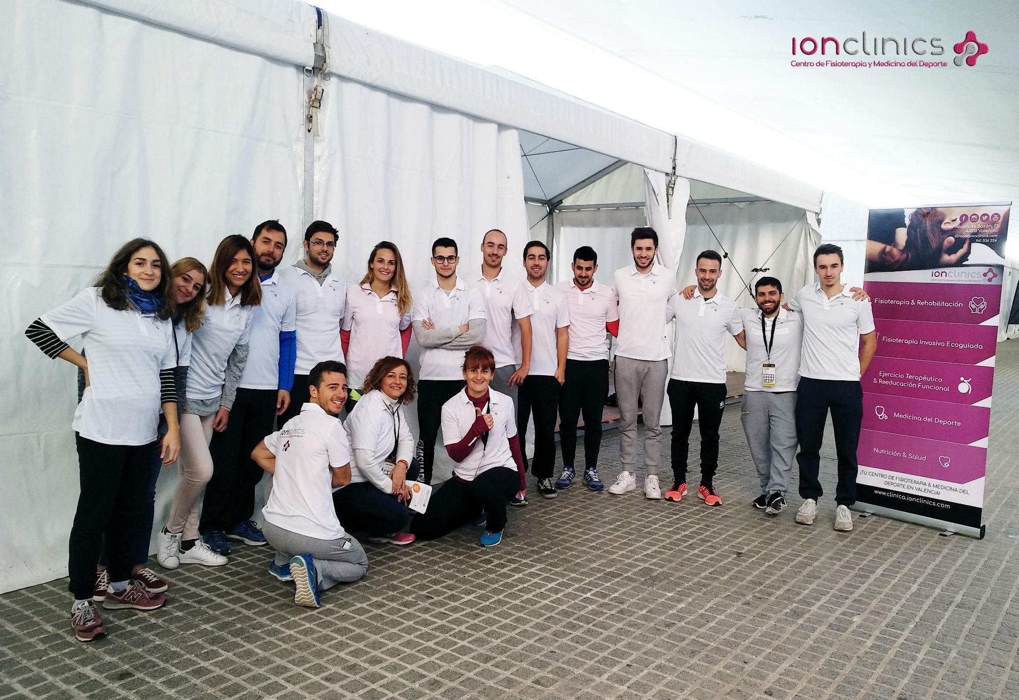 Maratón de Valencia Clinica Ionclinics