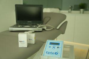 Kit básico para aplicación electrolisis percutanea terapeutica ecoguiada