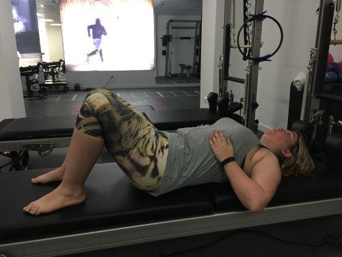 Respiración en Pilates