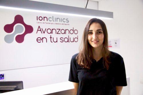 Fisioterapeuta Andrea Gómez ClinicaIonclinics