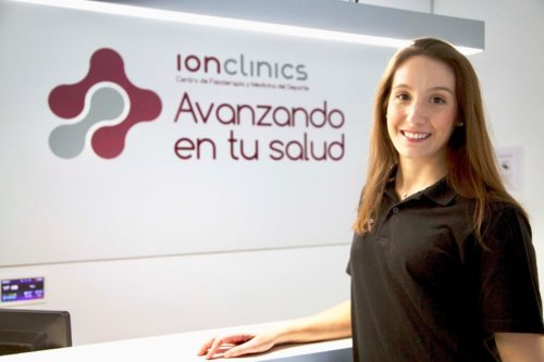 Fisioterapeuta Emi Martínez ClinicaIonclinics